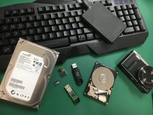 札幌PCデータ復旧堂でファイルやフォルダを救出できるメディアの種類